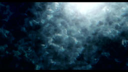 White smoke vj animation background Animation