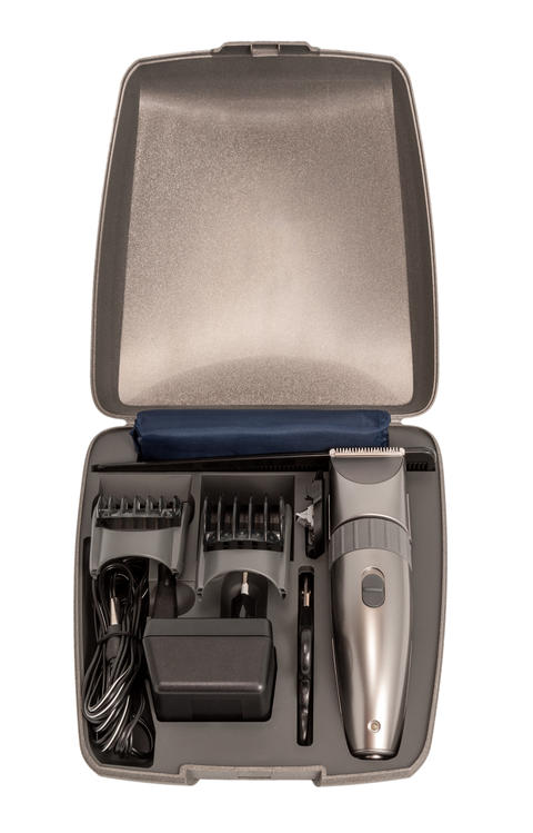 Electronic collection - closeup of hairclipper フォト