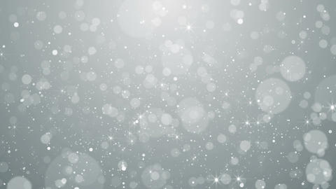White particles business clean bright glitter bokeh dust abstract background CG動画素材