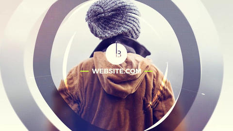 Harmony Slideshow After Effects Template