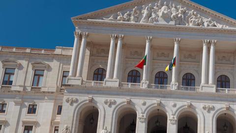Sao Bento, Lisbon, Portugal Live Action
