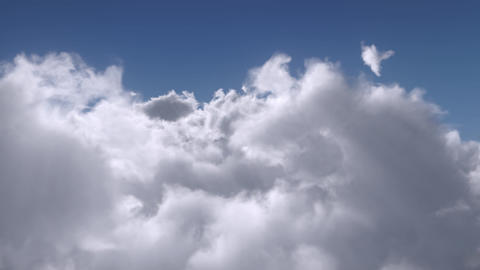 Flight Over the Clouds Animation