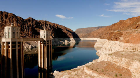 The Hoover Dam - one of the world wonders Live Action
