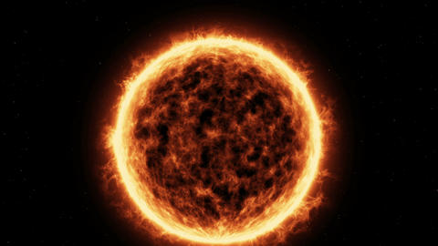 Sun Surface stock footage