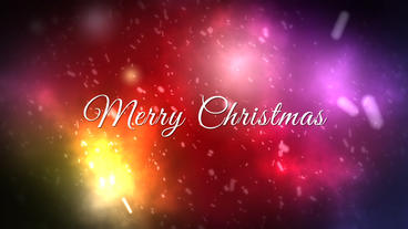 Christmas Greeting Card After Effects Template