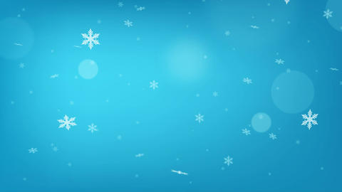 Abstract winter snow background - seamless loop Filmmaterial