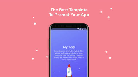 Android Mobile App Promotion After Effects Template