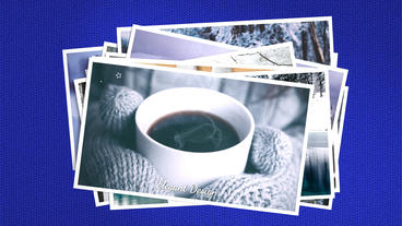 Winter Time After Effects Template