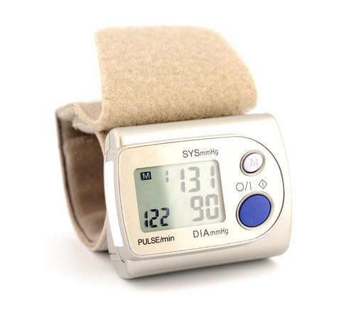 Digital blood pressure monitor フォト