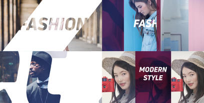 Fashion Promo Slideshow After Effectsテンプレート