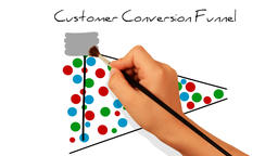 Whiteboard Animation - Customer Conversion Funnel Animation