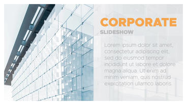 Modern Corporate Promo After Effects Template