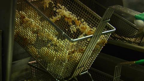 Deep fryer basket Live Action
