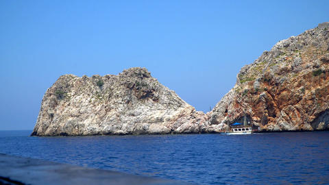 The Rocky Coast Of The Mediterranean Sea 0