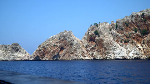 The Rocky Coast Of The Mediterranean Sea 1