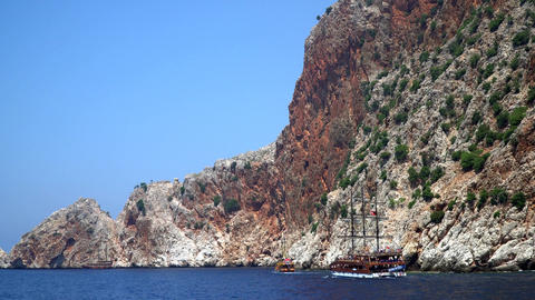 The Rocky Coast Of The Mediterranean Sea 2