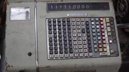 Old cash register Footage