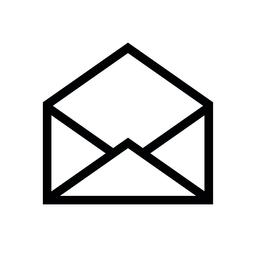 Email symbol letter icon - vector Vector