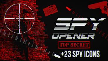 Spy Opener Premiere Pro Template