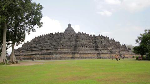 Borobudur, indonesia Stock Video Footage