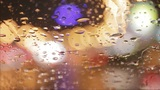car window rain night background defocused in motion Footage