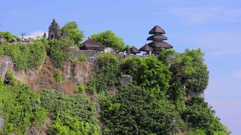 uluwatu temple, bali, indonesia Footage