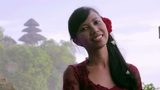 balinese girl in uluwatu temple Footage