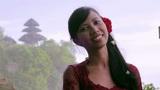 balinese girl in uluwatu temple Footage