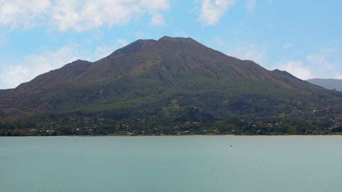 mount batur volcano, bali, indonesia Stock Video Footage