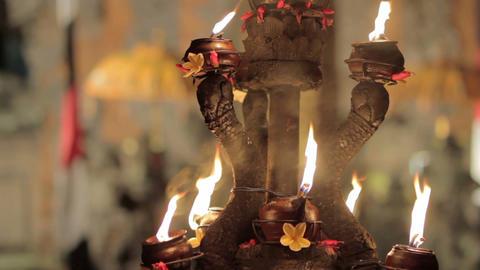 kecak dance performance, bali, indonesia Stock Video Footage