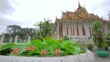 Royal Palace, Phnom Penh, Cambodia Footage