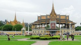 Royal Palace, Phnom Penh, Cambodia Footage