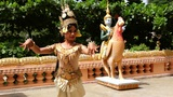 Apsara Dancer Performance in Temple Footage