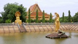 Oudong, old capital city of cambodia Footage