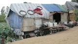 Very poor condition house in slum Footage