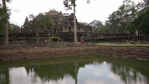 baphuon temple, angkor, siem reap Stock Video Footage