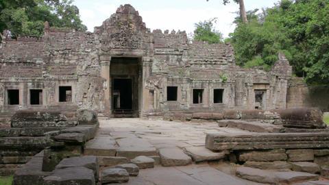 preah khan temple, angkor, cambodia Footage