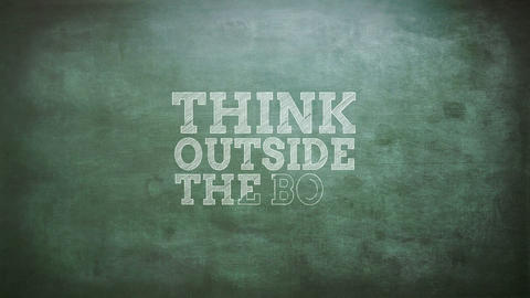 Think outside the box Live Action