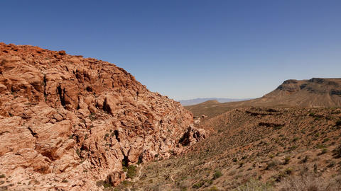 Red Rock Canyon, Nevada Stock Video Footage
