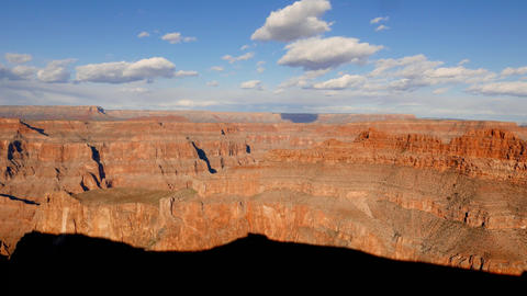 Panoramic wide angle shot of Grand Canyon Footage