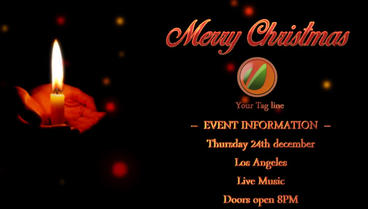 Christmas Event After Effects Template