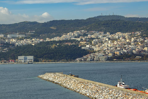 Kavala - view from the fortress, Greece フォト