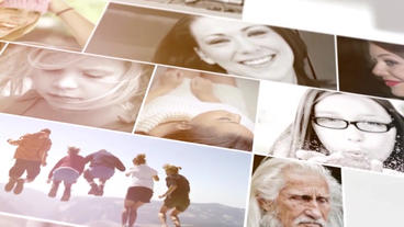 Photo Slideshow 3D After Effects Template