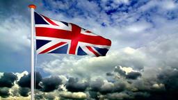 Raising flag of the United Kingdom Live Action