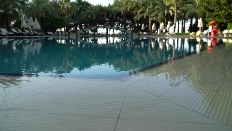 Water Smooth Surface Of Pool 0