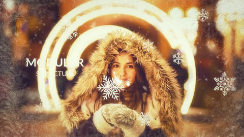Winter Slideshow After Effects Template