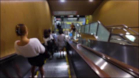 Japan Tokyo Roppongi metro station walking ライブ動画
