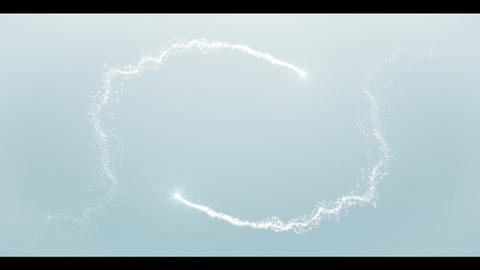 Clean & Bright Particle Logo After Effects Template