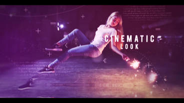 Cinematic Parallax Slideshow After Effects Template