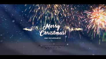 Christmas Stomp Opener After Effects Template